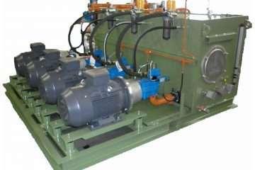Centrale Oleodinamica per ribaltatore siviera in acciaieria