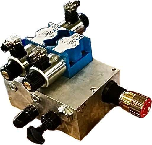 Hydraulic manifolds – geotechnical sector
